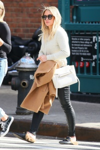 Hilary Duff - Shopping with a Friend in Soho - March 8th 2017