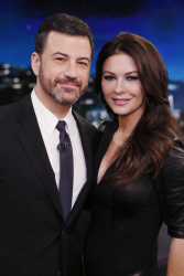 Catherine Zeta-Jones - Jimmy Kimmel Live: February 28th 2017