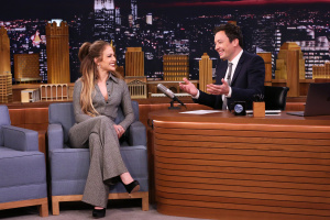 Jennifer Lopez - The Tonight Show with Jimmy Fallon - March 2nd 2017