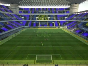 Download PES 2013 Giuseppe Meazza Stadium Turf & Coreografi by kurniawan
