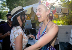 Katy Perry - Harper's Bazaar Coachella poolside fete in Palm Springs 4/12/13