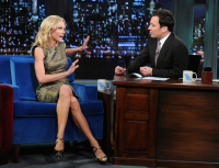 Julie Bowen - Late Show with Jimmy Fallon 10/23/13