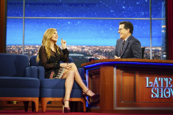 Connie Britton - The Late Show with Stephen Colbert: February 27th 2017