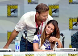 Paul Wesley - Ian Somerhalder,   Nina Dobrev,  Paul Wesley,  Katerina Graham,  Matthew Davis - 'The Vampire Diaries' panel during Comic-Con International 2014 at San Diego Convention Center in San Diego (July 26, 2014) - 101xHQ LyBy3lt0