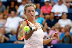 Camila Giorgi - 2015 US Open Day Four: 2nd Round vs. Sabine Lisicki @ BJK National Tennis Center in Flushing Meadows - 09/03/15