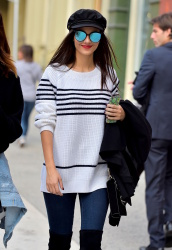 Victoria Justice - Out & About in SoHo - 11/2/16