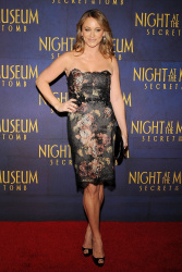 Christine Taylor 'Night At The Museum Secret Of The Tomb' New York premiere 12/11/2014 2