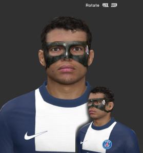 Download PES 2014 Thiago Silva Face by sunbast