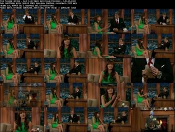 Valerie Azlynn - Late Late Show with Craig Ferguson - 1-21-14