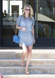Nicky Hilton stops by Barneys New York in Beverly Hills, California to do some shopping on July 31, 2014