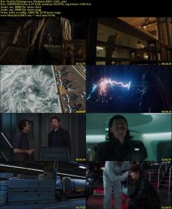 The Avengers (2012) Dual Audio BRRip 720p Hindi Dubbed