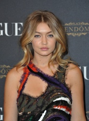 Gigi Hadid - Paris Fashion Week Spring/Summer 2016: Vogue 95th Anniversary Party Photocall @ 51 Avenue d'Iena in Paris - 10/03/15