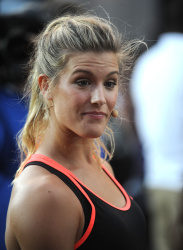 Eugenie Bouchard - Nike's NYC Street Tennis Event in NYC - 08/24/15