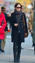 Olivia Wilde - out in NY 4/13/13