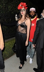 Brittny Gastineau - 2015 Casamigos Tequila Halloween Party in Los Angeles 10/30/15
