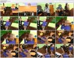(3d video) school adventure (dream in class)
