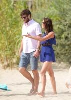 Nina Dobrev with her boyfriend Austin Stowell in Saint-Tropez (July 24) S3DISh89