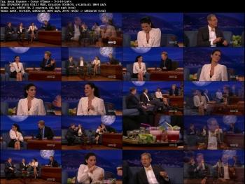 Angie Harmon - Conan O'Brien - 3-5-14 (so leggy!)