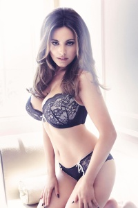Kelly Brook - New Look Lingerie Photoshoot 2017
