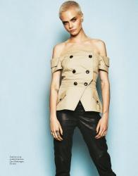 Cara Delevingne -         Grazia Magazine (Italy) August 2017.