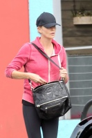 Charlize Theron - In Tights out in Los Angeles 7/25/17