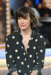 Milla Jovovich - Good Morning America: January 26th 2017