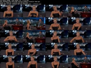 Margot Robbie - Jimmy Kimmel Live - 1-7-14