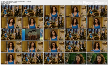 Andie MacDowell - Live with Kelly & Michael - 7-16-14