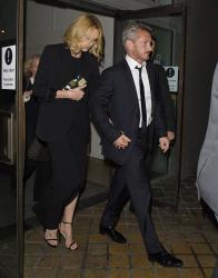 Sean Penn - Charlize Theron and Sean Penn - seen leaving Royal Festival Hall. London - February 16, 2015 (153xHQ) 0LTb6z0F