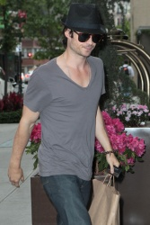 Ian Somerhalder - Out And About in New York 2012.05.15 - 6xHQ LbXBqCqG