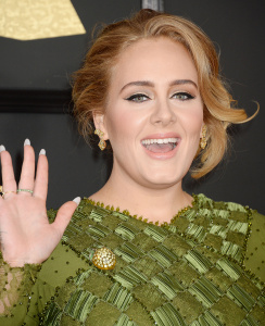 Adele - 59th Annual Grammy Awards at Staples Center in Los Angeles - February 12th 2017