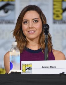 Aubrey Plaza  'Legion' Panel @ 1