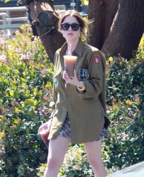 Ashley Benson - out and about in Hollywood 3/12/13