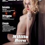 Gatas QB - Militta Bora Playboy Argentina Julho 2015