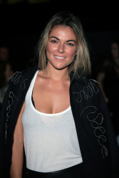 Serinda Swan - 'Francesca Liberatore Fashion Show' Mercedes-Benz Fashion Week Spring 2015 @ The Salon at Lincoln Center in NYC - 09/08/14