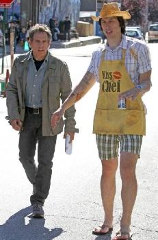Ben Stiller and Adam Driver
