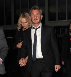 Sean Penn - Charlize Theron and Sean Penn - seen leaving Royal Festival Hall. London - February 16, 2015 (153xHQ) TskO9ArO