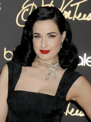 Dita Von Teese - Your Beauty Mark Book Signing @ Bloomingdale's 59th Street Store in NYC - 12/02/15