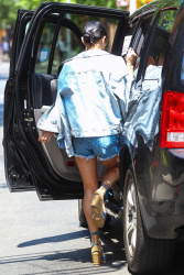 Vanessa Hudgens Leaving her Apartment in NYC 5/30/15