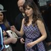 Zooey deschanel - April 14: ABC's 'Good Morning America' in NY