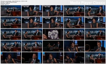 Lena Headey - Jimmy Kimmel Live - 6-16-14