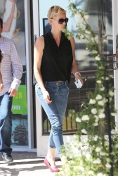 Charlize Theron - out in West Hollywood 4/9/13
