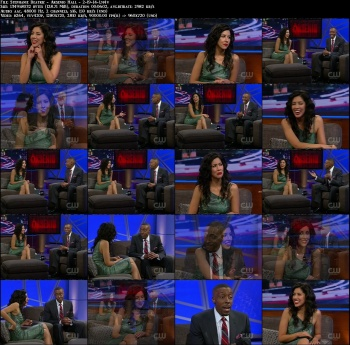 Stephanie Beatriz - Arsenio Hall - 2-19-14