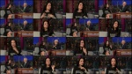 Lucy Liu - Letterman -10-9-13