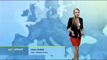 Anna Gröbel -Augsburg TV -Allemagne AceNsESt