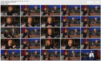 Kelly Ripa - Late Show With David Letterman - 9-14