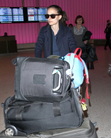 Natalie Portman at LAX Airport - 11/16/13