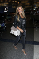 Sylvie Meis - At LAX Airport in Los Angeles 2/25/16