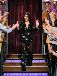 Vanessa Hudgens - The Late Late Show with James Corden: March 16th 2017