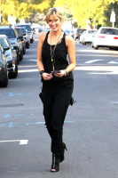 Delta Goodrem - getting a Star Bucks coffee in Studio City - 02/20/14